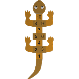 Hopscotch Lizard