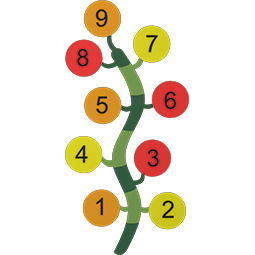 Plant With Numbers